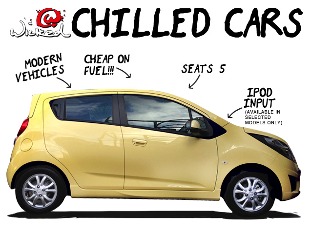 chilled car rental